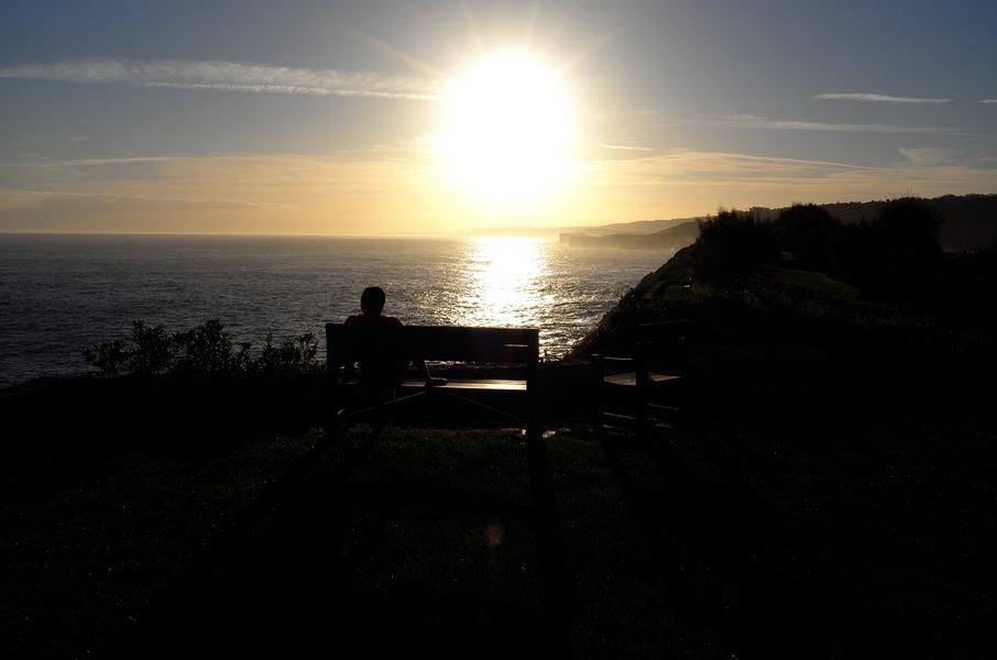 Sonnenaufgang in Llanes